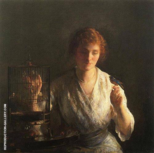Blue Bird 1919 By Joseph de Camp