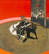 Study of a Bullfight No 1 1971 By Francis Bacon