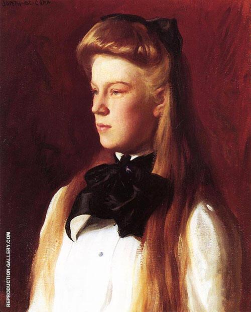 Miss Alice Boit 1898 By Joseph de Camp
