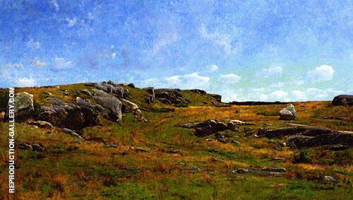 Moorland Path Cape Ann Massachusetts 1886 By Joseph de Camp