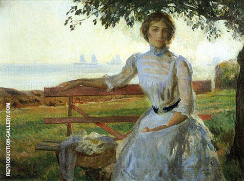 Mrs Ernest Major 1902 By Joseph de Camp