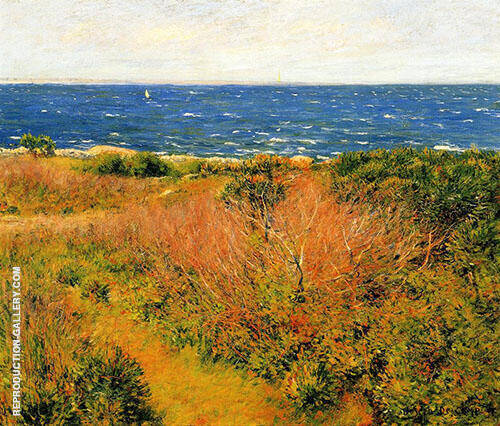 Seascape c1893 Painting By Joseph de Camp - Reproduction Gallery