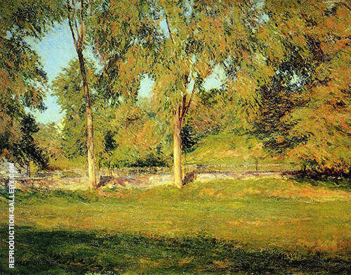 September Afternoon 1895 Painting By Joseph de Camp - Reproduction Gallery