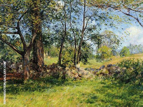 Summer Landscape Sumemrtime 1893 By Joseph de Camp
