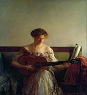 The Guitar Player 1908 By Joseph de Camp
