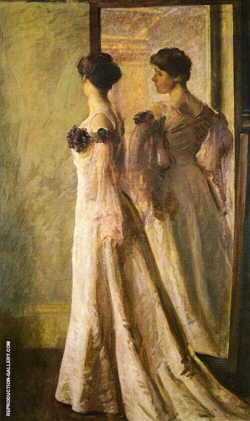 The Heliotrope Gown 1905 By Joseph de Camp