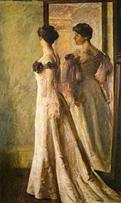 The Heliotrope Gown 1905 By Joseph de Camp