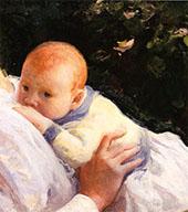 Theodore Lambert Decamp as an Infant 1904 By Joseph de Camp