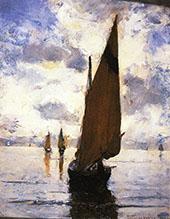 Venice Becalmed 1882 By Joseph de Camp