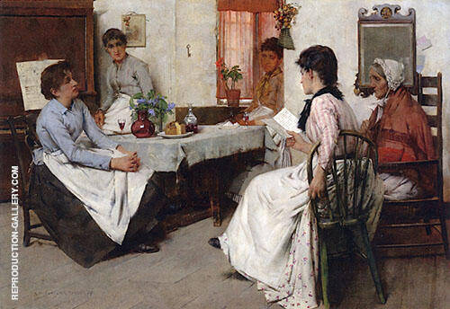 Confidences 1889 By Albert Chevallier Tayler