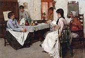 Confidences 1889 By Albert Chevallier Tayler