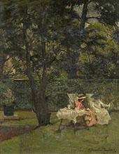 In The Garden 1912 By Albert Chevallier Tayler