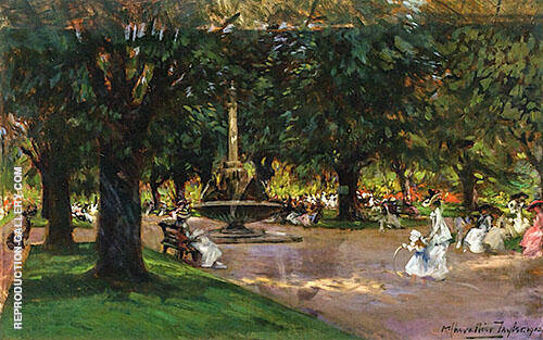 The Park 1912 By Albert Chevallier Tayler