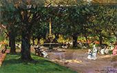 The Park 1912 By Albert Chevallier Tayler