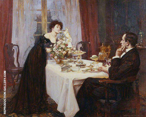 The Anniversary 1909 By Albert Chevallier Tayler