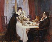The Anniversary 1909 By Albert Chevallier Tayler