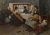 The Blesing 1887 By Albert Chevallier Tayler