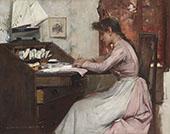The Letter 1888 By Albert Chevallier Tayler