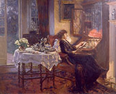 The Quiet Hour 1913 By Albert Chevallier Tayler