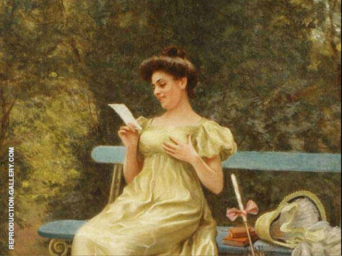 The Love Letter 1 By Mary Brewster Hazelton