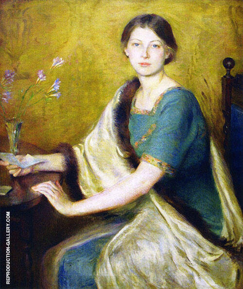 The Letter 1914 By Mary Brewster Hazelton