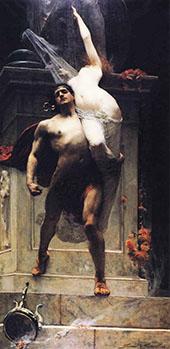 Ajax and Cassandra 1886 By Solomon Joseph Solomon