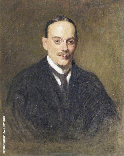 Bertram Louis Abrahams 1908 Painting By Solomon Joseph Solomon