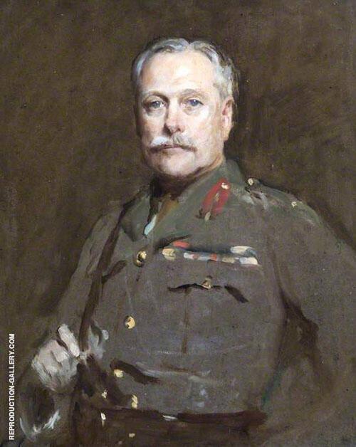 Field Marshal Earl Haig 1919 By Solomon Joseph Solomon