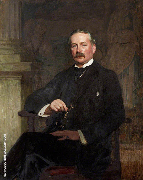 Joseph Shaw KC 1914 Painting By Solomon Joseph Solomon