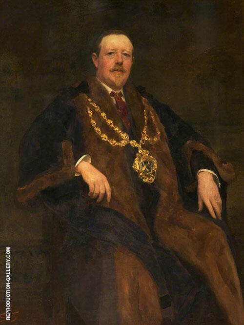 Smith Mayor of Oldham By Solomon Joseph Solomon