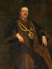Smith Mayor of Oldham By Solomon Joseph Solomon