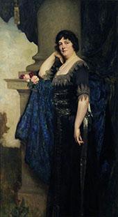 Lady Stevenson 1923 By Solomon Joseph Solomon