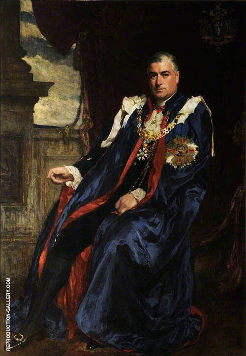 Lord James Stevenson 1923 By Solomon Joseph Solomon