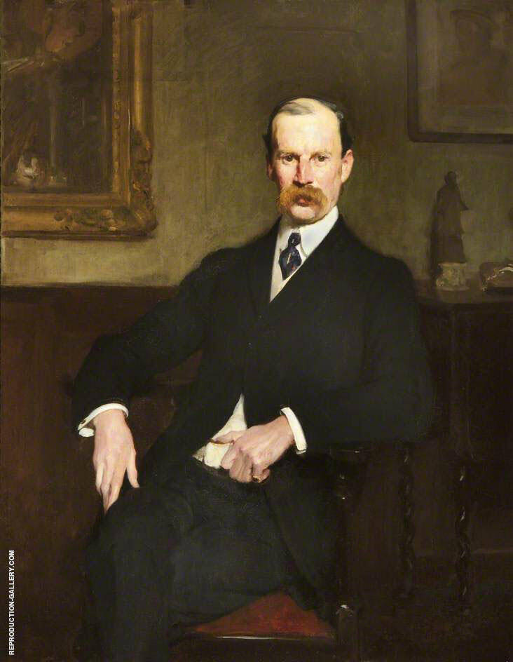 Sir Aston Webb 1904 By Solomon Joseph Solomon