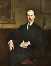 Sir Aston Webb 1904 By Solomon Joseph Solomon