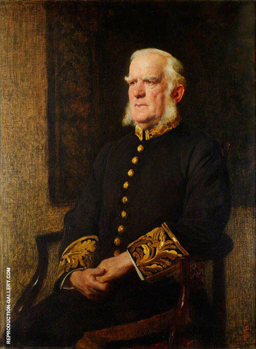 Sir Edward George Clarke Painting By Solomon Joseph Solomon