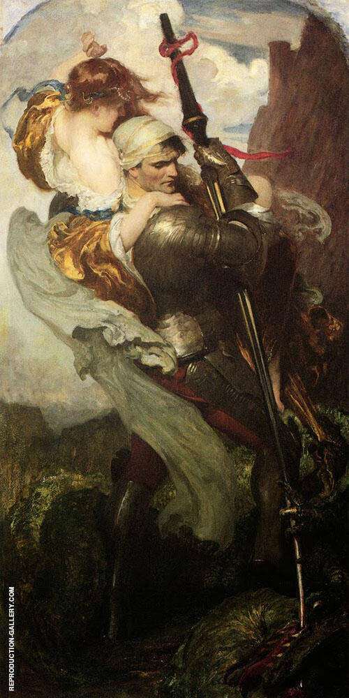 St George By Solomon Joseph Solomon