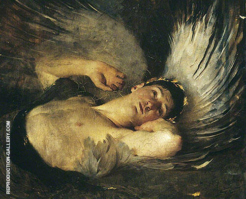 The Awakening 1891 Painting By Solomon Joseph Solomon