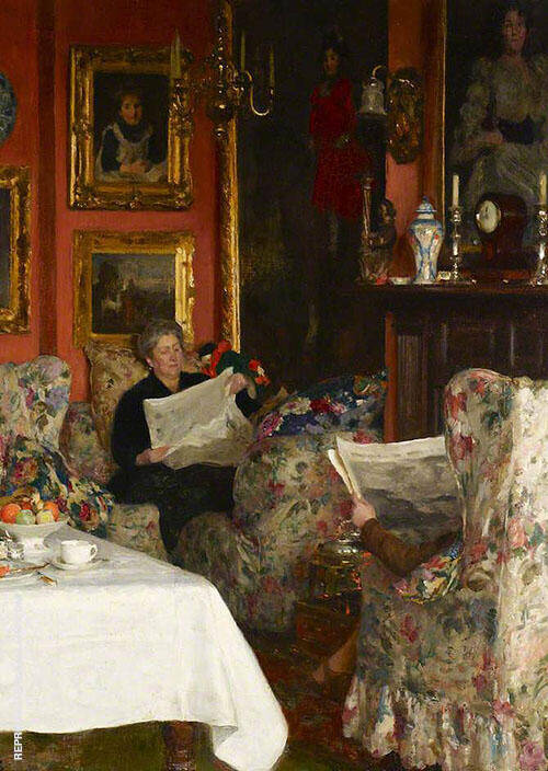 The Breakfast Table 1921 By Solomon Joseph Solomon
