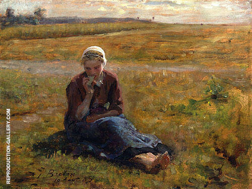 Afternoon Repast 1885 By Jules Breton