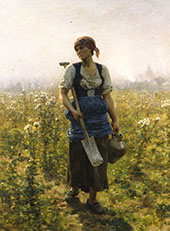 Le Matin By Jules Breton