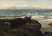 The Cliff By Jules Breton