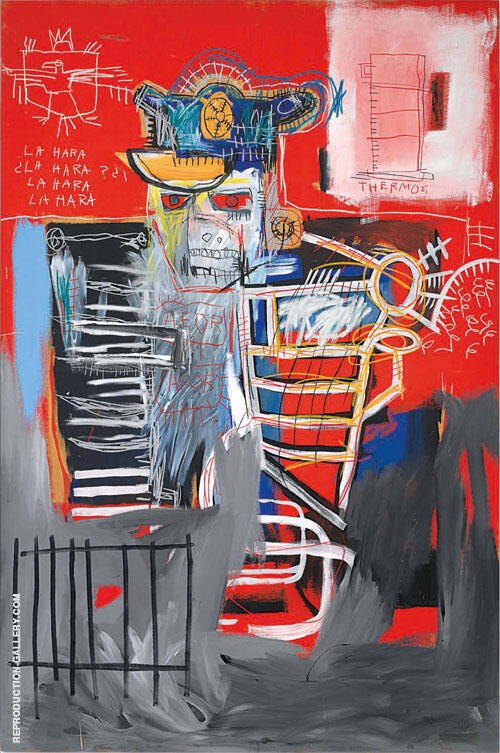 La Hara By Jean-Michel-Basquiat