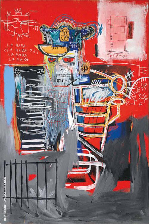 La Hara By Jean-Michel-Basquiat