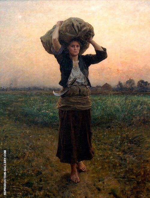 The Shepherds Star By Jules Breton