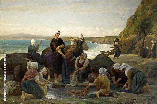The Washerwomen By Jules Breton