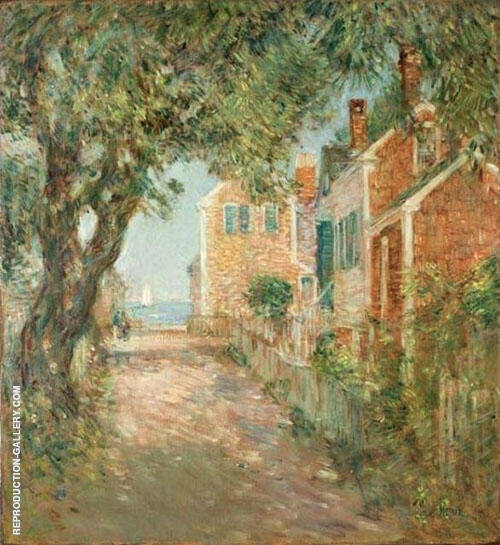 Street in Provincetown 1904 Painting By Childe Hassam