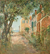 Street in Provincetown 1904 By Childe Hassam