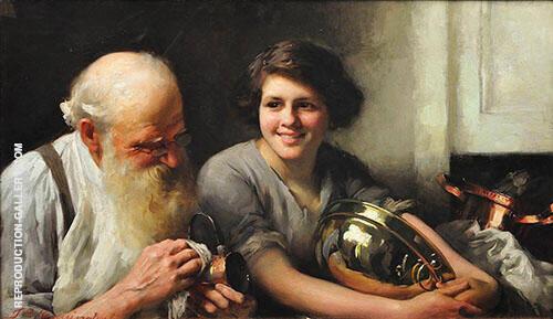 A Merry Heart Goes a Long Way 1912 By Thomas Benjamin Kennington