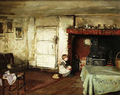 In The Kitchen By Thomas Benjamin Kennington